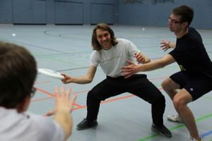 Trainer Axel mit Frederik; Foto: Gärtner