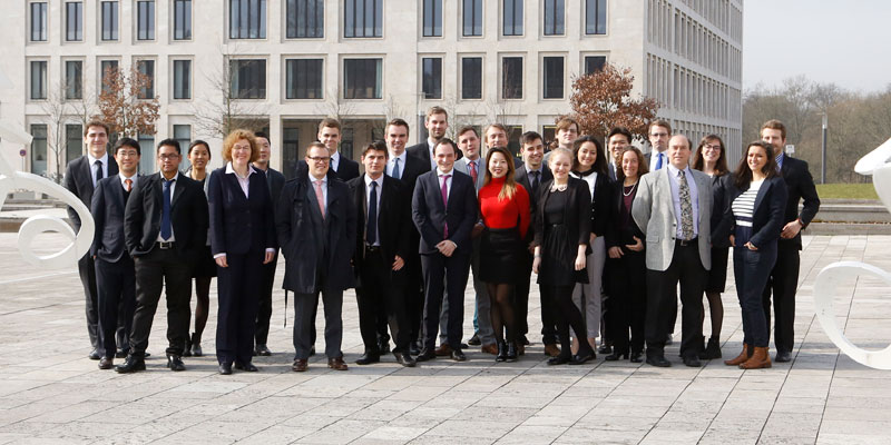 Amerikanische Jurastudierende zu Gast an der Goethe-Uni; Foto: Dettmar