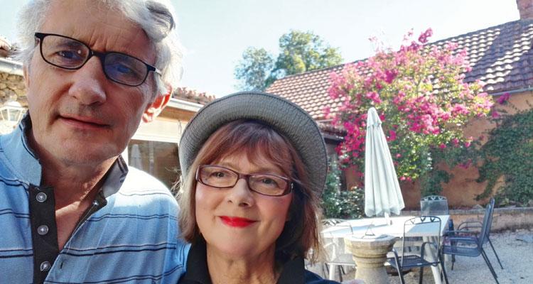 Selfie von Tim und Claudia Pillar; Foto: Tim Pillar