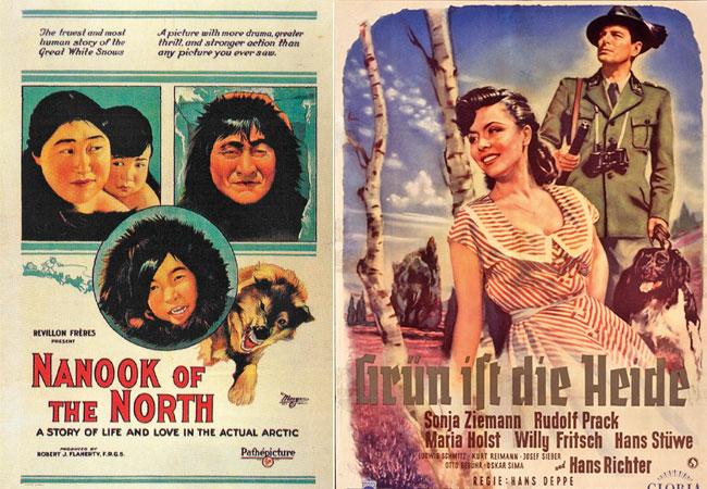 Plakat rechts: © Berolina Film, Berlin
